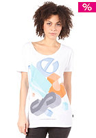 WESC Womens 3D Blocks T-Shirt white