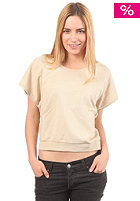 WESC Womens Abree Top camel melange