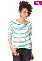 WESC Womens Arrosa L/S T-Shirt green lake