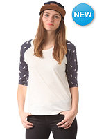 WESC Womens Bird Up AOP S/S T-Shirt winter white