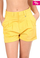 WESC Womens Dannie Shorts misted yellow