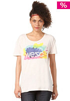 WESC Womens Happy Marker S/S T-Shirt ice pink
