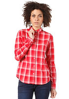 WESC Womens Idaho L/S T-Shirt cranberry