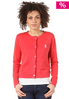 WESC Womens Janela Sweat cranberry