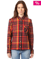 WESC Womens Klara L/S Shirt andorra red