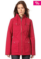 WESC Womens Laane Jacket red bud