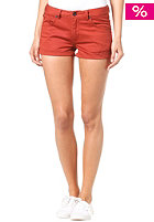 WESC Womens Roxanne Short burnt henna