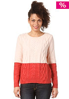 WESC Womens Signy Knit Sweat ice pink