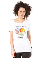WESC Womens Superlative Minds S/S T-Shirt white