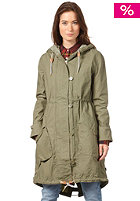 WESC Womens Tazia Coat deep lichen green