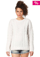 WESC Womens Totit Knit Sweat off white