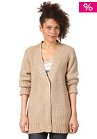 WESC Womens Uzima Cardigan light camel