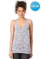 WESC Womens Weeds AOP Tank Top white