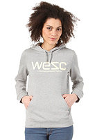 WESC Womens WeSC Hooded Sweat grey melange