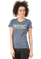 WESC Womens WeSC S/S T-Shirt bering sea