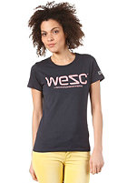 WESC Womens WeSC S/S T-Shirt dark sapphire