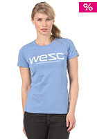 WESC Womens WeSC Soft S/S T-Shirt blue eyed mar
