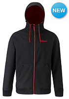 WESTBEACH Chief Softshell Snow Jacket black