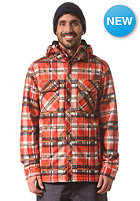 WESTBEACH Frank Snow Softshell Jacket tobasco plaid