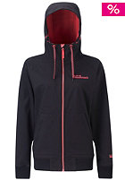 WESTBEACH Womens 1st Avenue Softshell Jacket black