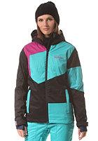 WESTBEACH Womens Gigawatts Snowboard Jacket black