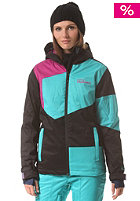 WESTBEACH Womens Gigawatts Snowboard Jacket black