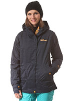 WESTBEACH Womens Hill Valley Snowboard Jacket in the navy