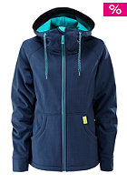 WESTBEACH Womens Jenny Softshell Jacket inthenavy