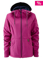 WESTBEACH Womens Jenny Softshell Jacket raspberry