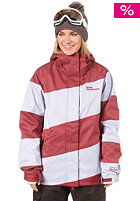 WESTBEACH Womens Lady Racer Jacket merlot