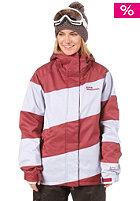 WESTBEACH Womens Lady Racer Jacket merlot