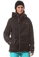 WESTBEACH Womens Lansdowne Snowboard Jacket black