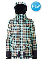 WESTBEACH Womens Victoria Snow Jacket tundra plaid
