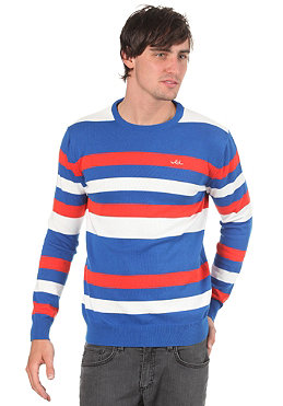 WLD Cox II Knit Sweat blue/red/white