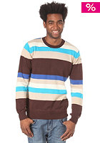 WLD Cox Knit Sweat brown/blue 