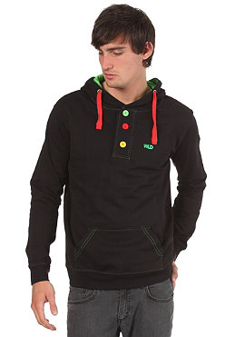 WLD Durfee II Hooded Sweat black rasta