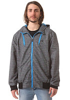 WLD Fade Laxer Jacket grey melange stripes