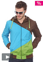 WLD Flynns Jacket blue/yellow/green
