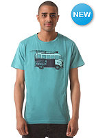 WLD Good Guy Car S/S T-Shirt tile blue melange