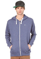 WLD Likely Hooded Zip Sweat blue melange