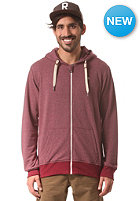 WLD Likely Sweatjacket burgundy melange