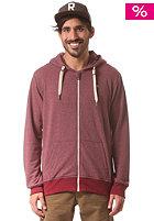 WLD Likely Sweatjacket burgundy melange