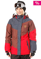 WLD Limelight Love Jacket blue brown red