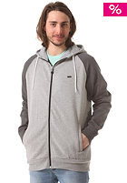 WLD Lucky Play Hooded Zip Sweat double grey melange