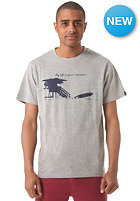 WLD Miami Lifeguard S/S T-Shirt grey melange