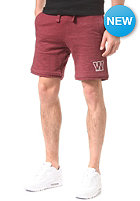 WLD Ritual Union Chino Short burgundy melange