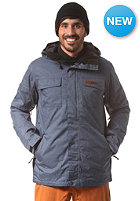 WLD Snowy Moon Snow Jacket denim blue melange