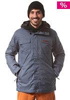 WLD Snowy Moon Snow Jacket denim blue melange