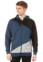 Stokes II Hooded Zip Sweat blue grey black