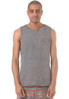 WLD Surfin Bean Tank Top grey oil washed